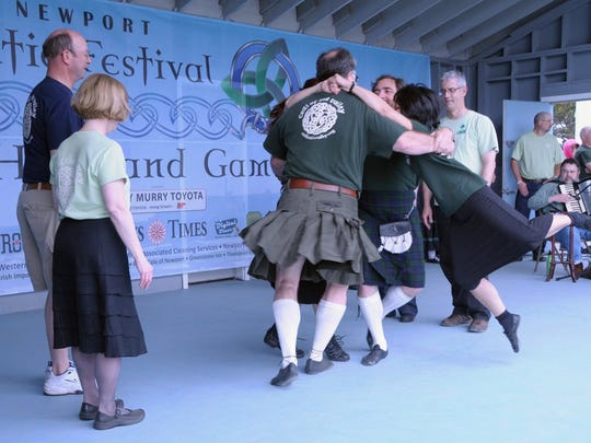 Ceili of the Valley Society will perform Celtic dance at 12:15 p.m. Saturday on the Performing Arts Stage at the Polk County Folklife Festival.