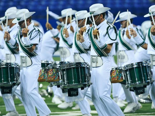The Madison Scouts will be one of six drum and bugle corps performing at River City Rhapsody.