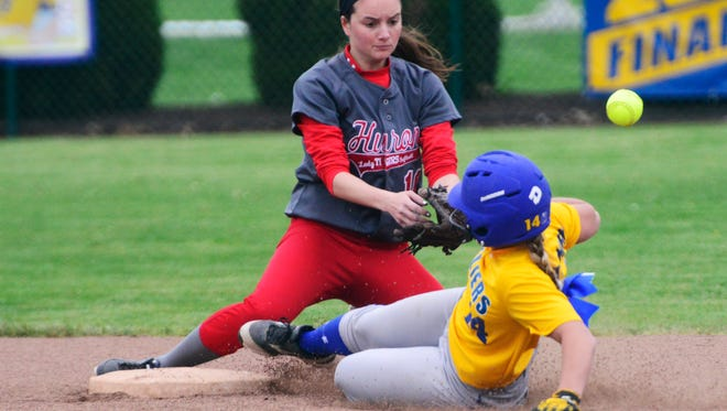 Clyde's Maddie Montgomery earned first-team all-district status.