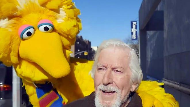 Caroll Spinney, the puppeteer behind Big Bird.