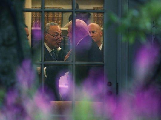 BESTPIX - President Trump Departs White House En Route To North Dakota For Tax Reform Speech