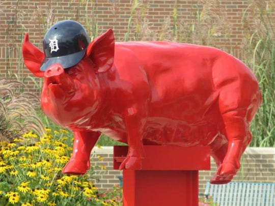 Willy the Pig has been a downtown Garden City favorite