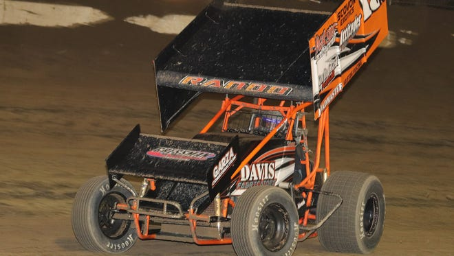 Lindsey's Steve Rando took his 11th career win Saturday at  Fremont Speedway.