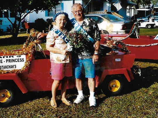 John and Stella Stanchak were married for 63 years.
