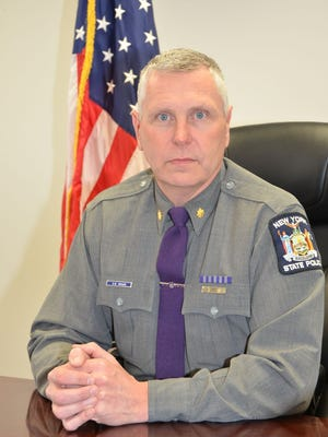 Maj. Scott Crosier, a 27-year-State Police veteran, was promoted Feb. 1 to become the new Troop E commander.