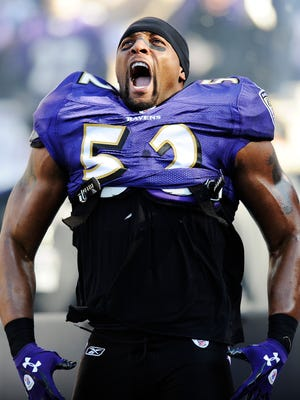 Ray Lewis is a first-time nominee for the Pro Football Hall of Fame.