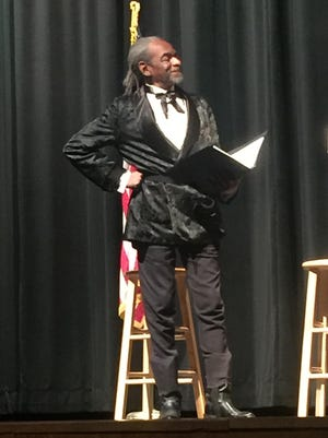G. Oliver King will be performing as Frederick Douglass at the Mamakating Library on Jan. 30.