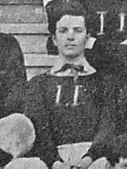 Pothier Voorhies was one of the first members of SLI's football team.