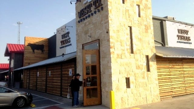 West TX Chophouse, a steahhouse, has opened at 1135 Airway in East El Paso.