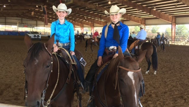 Baxter County 4-H members Caitlyn Ferguson and Quinn Hodges have qualified to represent Arkansas in the 2018 American Quarter Horse Association Youth World Show. Ferguson is qualified in ranch riding and reining, riding Cat Booming. Hodges qualified in ranch riding and ranch boxing, riding Saragosa Duck, the Youth World Show is to be held in Oklahoma City, Okla.,Aug.3-11.