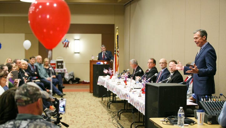 Crowded Republican primary for Oregon governor tighter than expected