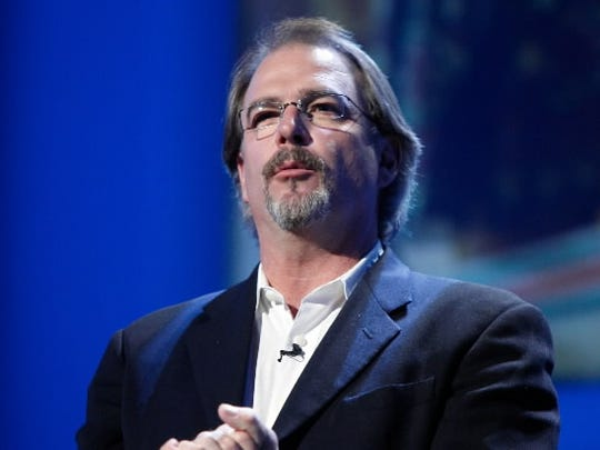 FILE - In this May 14, 2008, file photo Bill Engvall speaks during their portion of the Turner Entertainment Upfront 2008-2009 presentation, in New York. (AP Photo/Richard Drew, file) ORG XMIT: NYET107