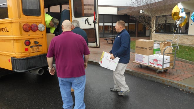 The Windsor Central School District collected over 2,500 pounds of food during the district's Fill the Buss food drive from Oct. 23-Nov. 3.