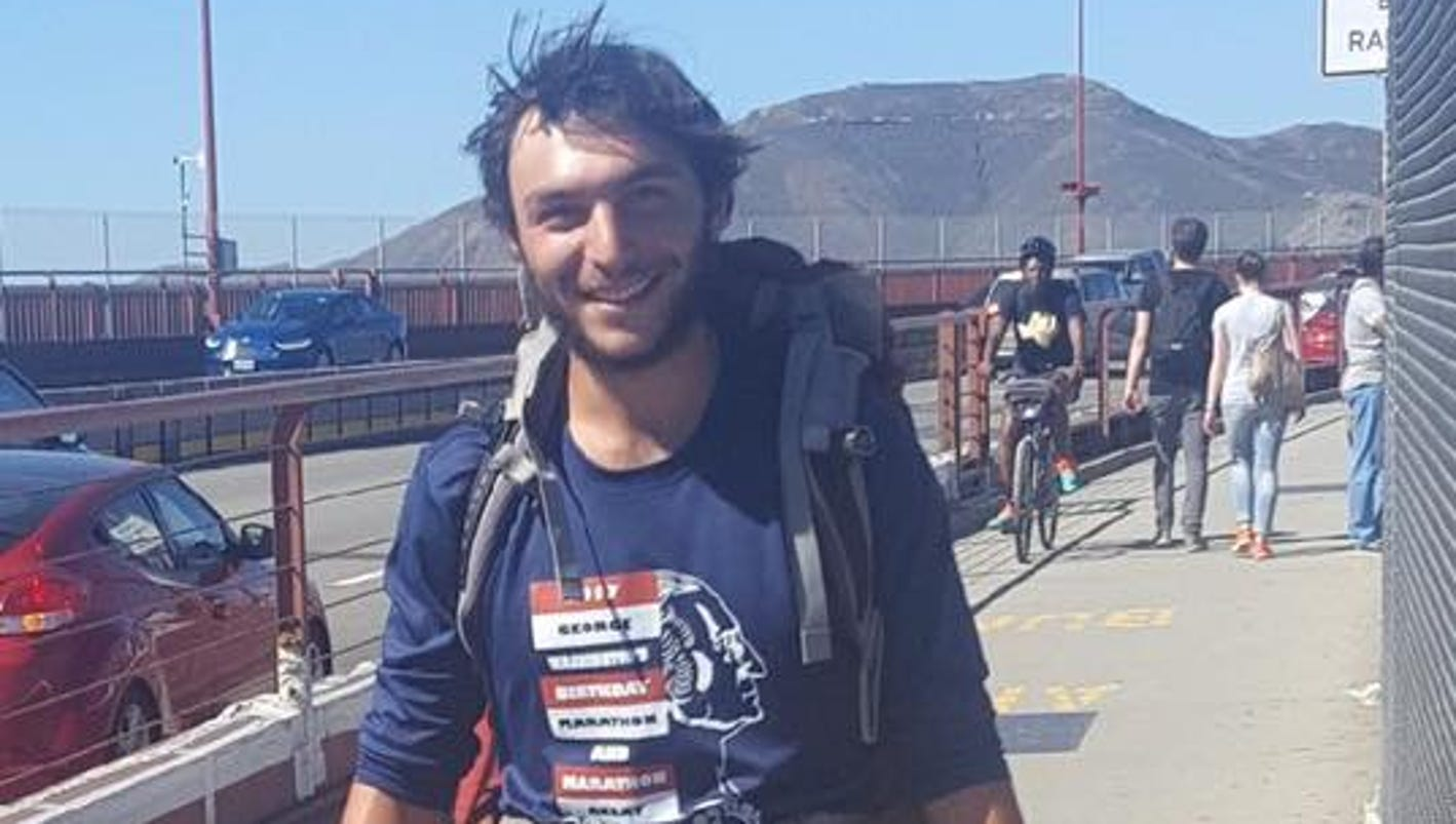 N.J. man hikes cross-country for clean water
