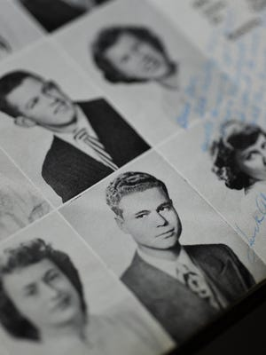 Don Qualseth's graduation photo from his 1950 high school yearbook.