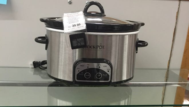 Slow cookers are a popular Black Friday rebate item at Kohl's, JCPenney and Macy's.