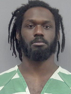 This undated photo provided by the Gainsville, Fla., Police Department shows WWE wrestler Rich Swann. Swann is being held without bail in a Florida jail after he was arrested Saturday, Dec. 9, 2017and charged with battery and false imprisonment. According to Gainesville Police, Swann was arguing with his wife, who is also a wrestler.  (Gainesville Police Department via AP) ORG XMIT: NYSP101