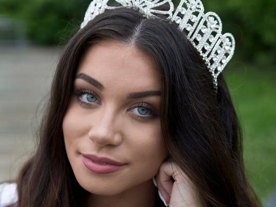 Miss New Jersey Teen USA Gina Mellish of Oceanport