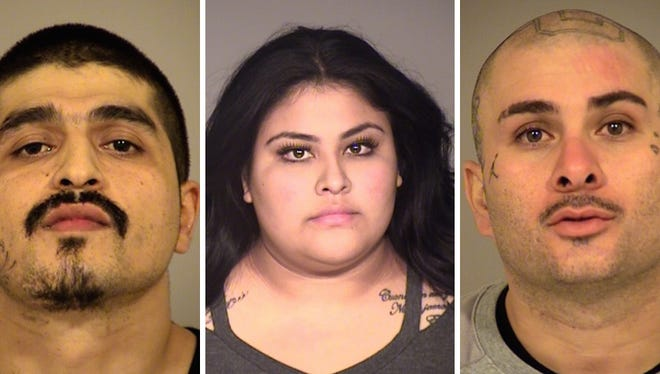 Simi Valley Police arrested Alex Ramos, 33, Brenda Carpinteyro, 23, Marco Lopez, 31, and one juvenile in connection with a home burglary in Simi Valley.