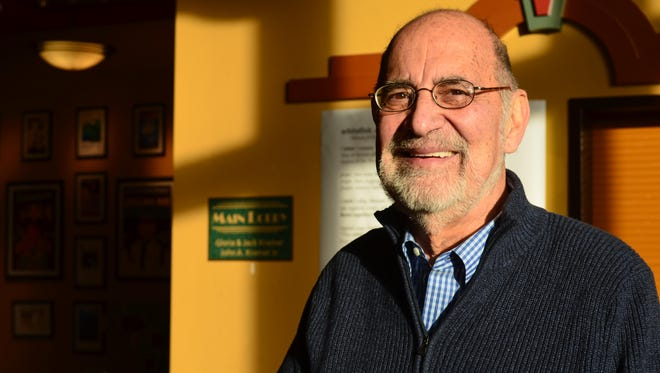 """Rabbi Allen Secher, co-founder of Love Lives Here, co-produced """"Dear President,"""" a Martin Luther King Jr. theater program held at the Whitefish Performing Arts Center each year."""