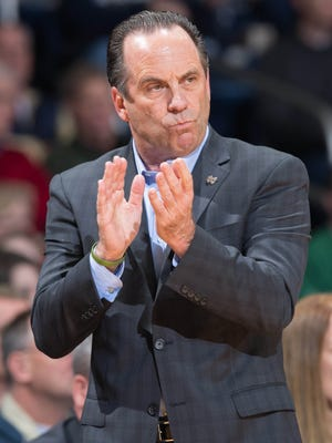 Notre Dame coach Mike Brey has an interesting take on the new rules as a former NCAA men's basketball rules committee chairman.
