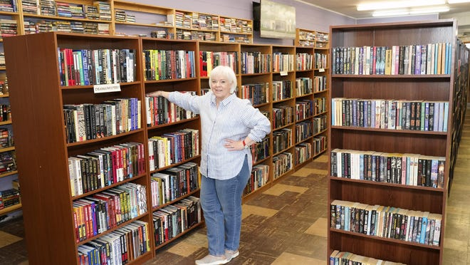 Owner Linda Tuckey of ReRead Tecumseh, a used bookstore located at 810 Adrian St., Tecumseh, stands inside of the bookstore among the many shelves of books. ReRead brings a bookstore back to Lenawee County after That Used Bookstore closed to the public. A lover of books, Tuckey reopened the bookstore back in March and was forced to close due to the coronavirus pandemic. It is now open to in-person services.