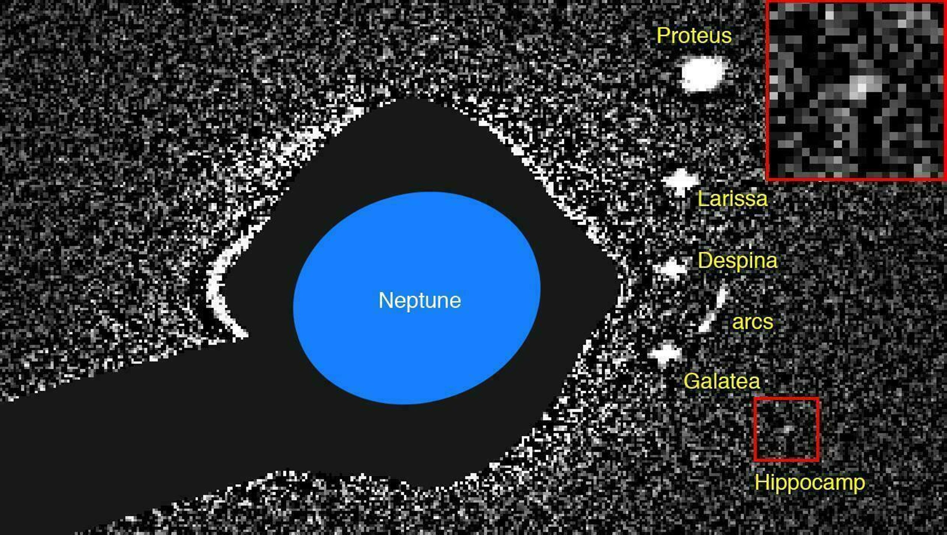 Neptune's newest moon likely fragment of bigger one
