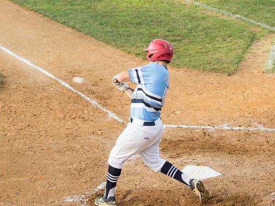 East Vineland's Doug Stasuk takes a swing during the