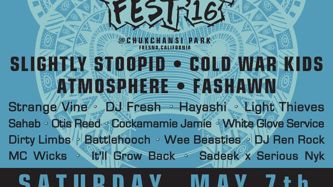 Grizzly Fest is 3 p.m. Saturday, May 7 at Chukchansi Park in Fresno. Tickets for the all-day concert are $34 for general admission, $45 for VIP seats, and are available to be purchased online by visiting http://grizzlyfestival.com/ticket-options/ or by calling 559.320.TIXS.