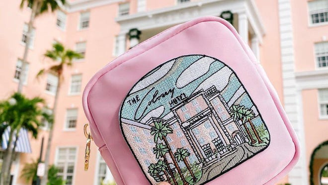 Stoney Clover Lane is donating all sales from The Colony patch to Feeding America. Other patches benefit local organizations and cultural groups such as The Flagler Museum.