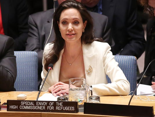 Angelina Jolie at UN Security Council