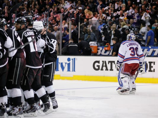 Stanley Cup Rangers Kings Hockey-GNO7ISUE0.1