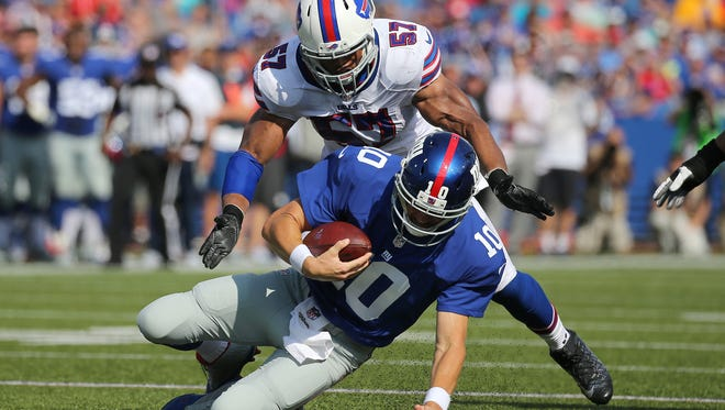 Lorenzo Alexander said the Bills can't overlook the 49ers just because they're 1-4.