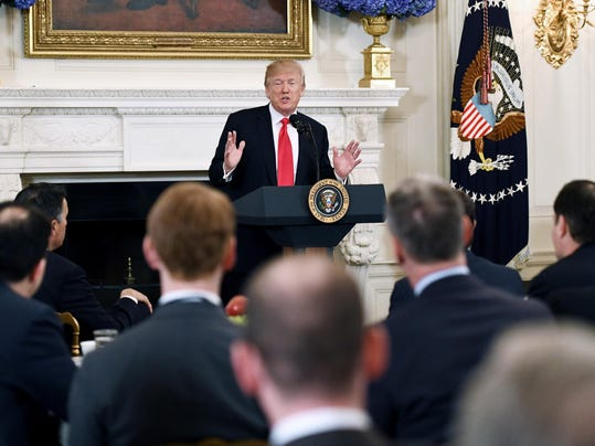 President Trump hosts the 2018 White House Business Session with the nation's governors - DC