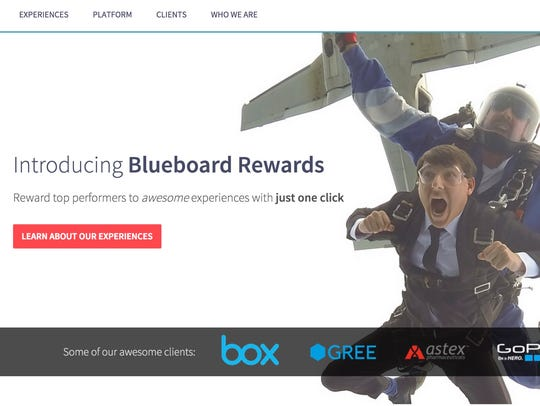 Blueboard teams with corporate clients looking to provide