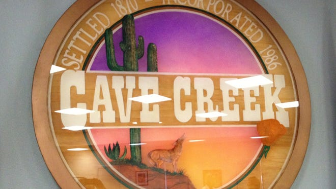 Cave Creek town logo
