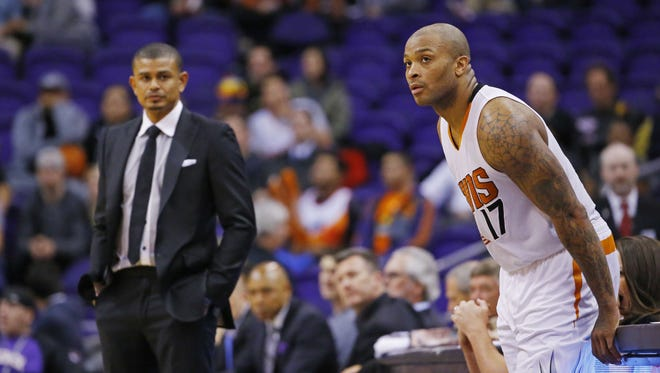 P.J. Tucker is not looking to get out due to the Suns' struggles after four non-playoff seasons in Phoenix.