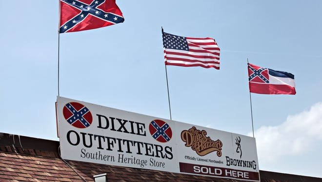 A Black Lives Matter march planned Sunday in Branson will start outside Dixie Outfitters, a store on the Missouri 76 strip that sells Confederate flags and apparel.