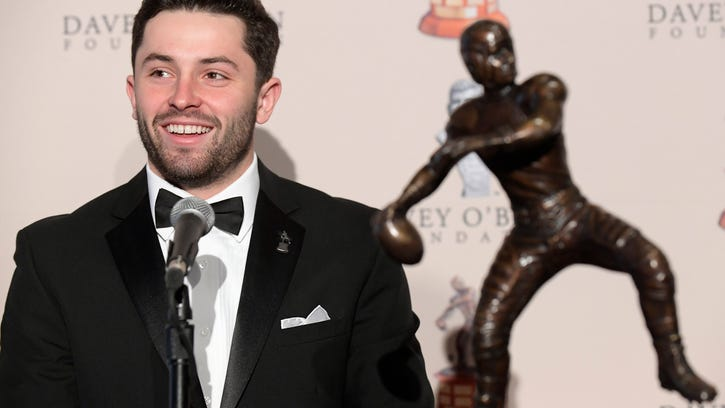 Mayfield rejects Manziel comparisons with NFL combine near