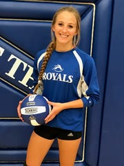 Assumption senior Chrysten Linzmeier has proven to be a reliable hitting option in the Royals attack throughout her high school career.