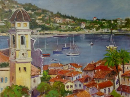 """""""On the French Riviera"""" by Medy Bozkurtian."""