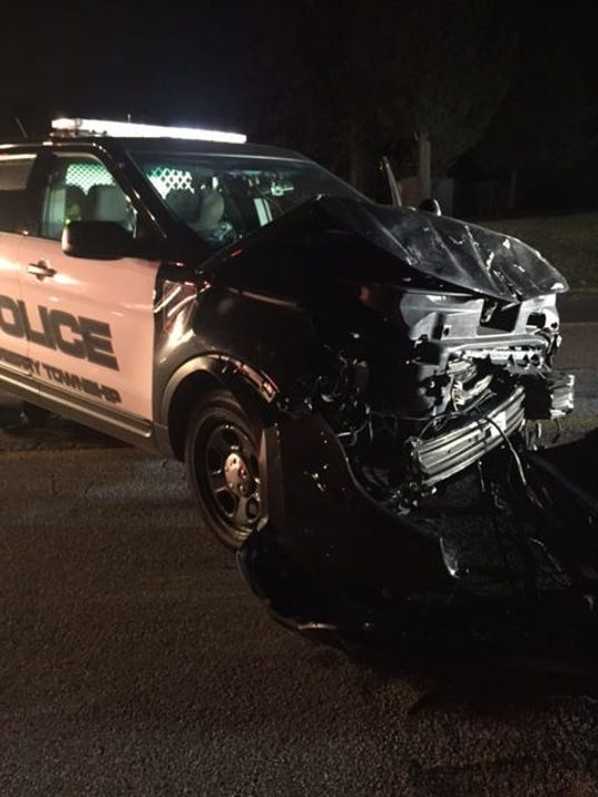 Police crash 1/3