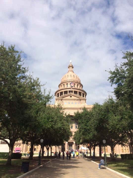 Texas Capitol walk