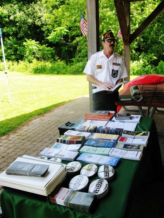 The veterans and guests who attended the Veteran's Picnic were confronted with an unhappy reminder of the wars we've fought and (on the positive side) the number os service organizations standing by to support the veterans of these wars.