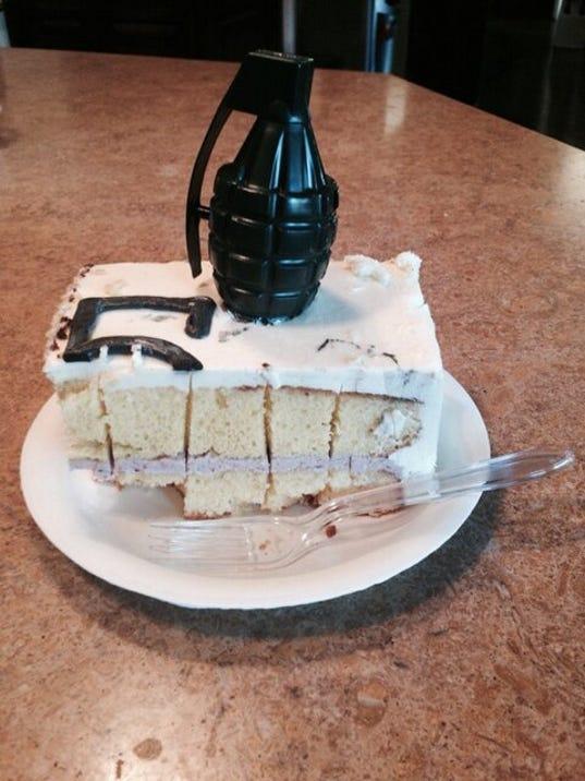 Charlie Sheen's cake