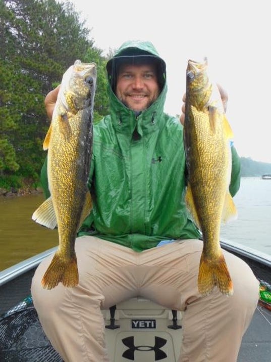 Chequamegon bay st louis river hayward fishing report for for Cleveland fishing report