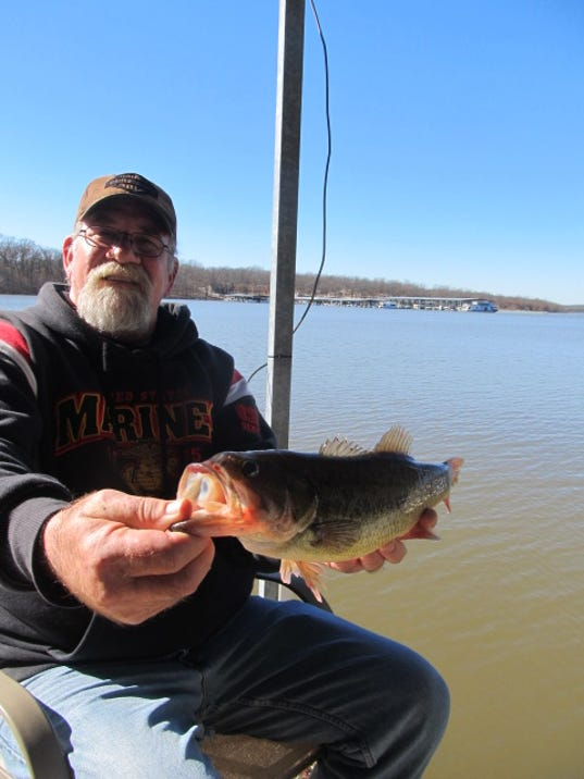 Anglers from all over find good winter fishing in missouri for Missouri bass fishing
