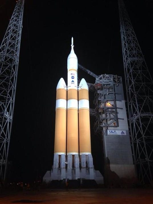 Orion Spacecraft Launch