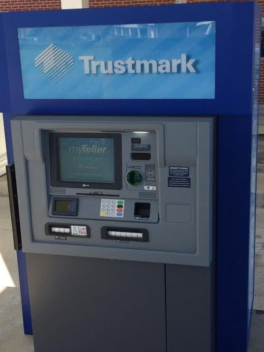 now you can talk to a live teller at trustmark atms