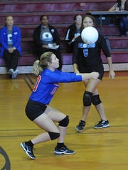 Evangel topped North Caddo on Thursday in volleyball